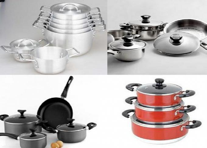 Durable Hard Round Metal Discs , Multifunction Aluminium Discs Circles  For Cookware