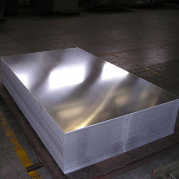 Heat Treatment Aluminum Sheet Metal Military Industry Structural Material
