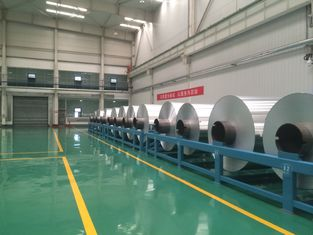 Thickness 0.006mm - 0.2mm Aluminum Sheet Roll Jumbo Roll Alloy 8011 / 8006
