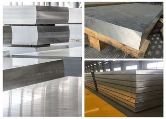 Hard Thick Flat Aluminum Sheet , Alloy 7075 Aluminum Sheet Material For Automobile
