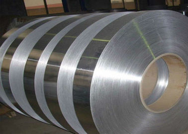 Mill Finished  Aluminum Strip For Composite Pipe , Flat Aluminum Strips Alloy 3003 / 8011