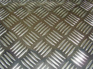 China Flat Five Diamond Embossed Aluminium Sheet / Aluminium Tread Plate With ASTM Standard company
