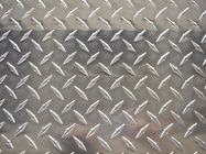 Alloy 3003 Aluminium Chequer Plate Sheet , Aluminum Diamond Tread Plate For Building Floors